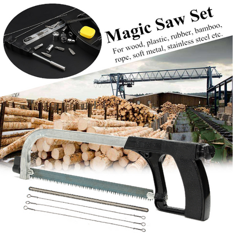 Jason'sSawSet™ Multi-functional Hand Saw Set