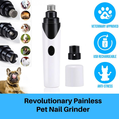 Premium Painless Pet's Nail Grinder