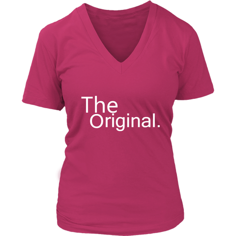 Womens V-Neck - The Original/REmix