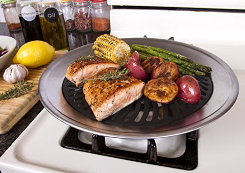 Non-stick Smokeless Stove Top Grill