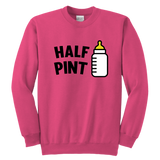 Youth Crewneck Sweatshirt - Pint/Half Pint