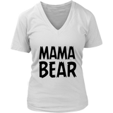 Womens V-Neck - Papa/Mama Bear