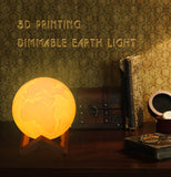 3D Print Earth Night Lamp
