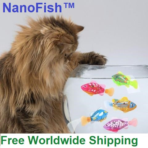NanoFish™ Electronic Fish Toy For Cats