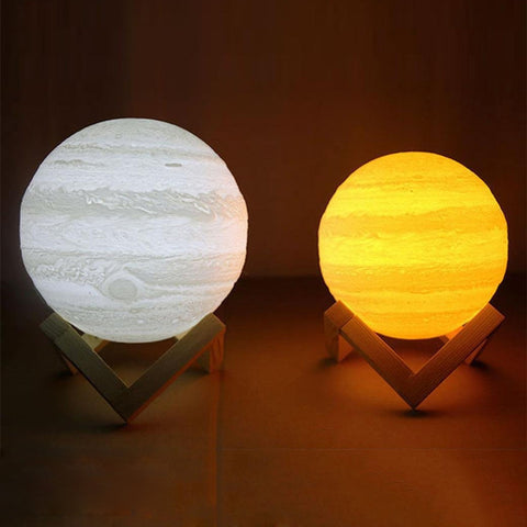 3D Print Jupiter Night Lamp