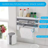 Multi-function 4-in-1 Kitchen Towel Dispenser