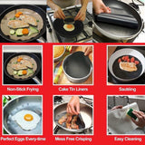 Non Stick Frying Pan Liner (2pcs)