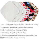 NoWorries™ Natural Bamboo Sanitary Daytime Pads (10 Pcs)