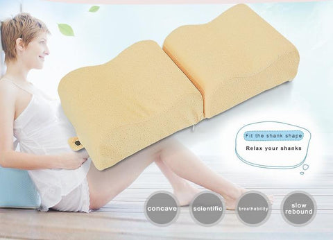 Ergonomic Memory Foam Leg Pillow