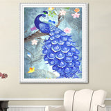 Diamond Art Kit - Peacock -