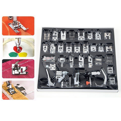 32pcs Presser Foot Kit
