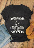 Wine Lovers V-Neck T-Shirt