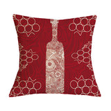 Wine Lovers Cushion Cover