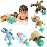 Cute Baby Pacifier Plush Toy