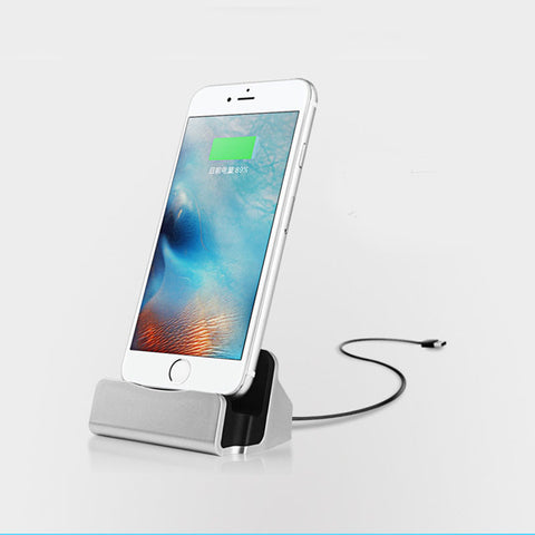 Data Transfer and Charging Dock Station for iPhone & Android