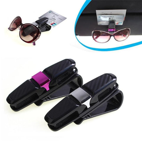 Double Sunglasses Car Holder