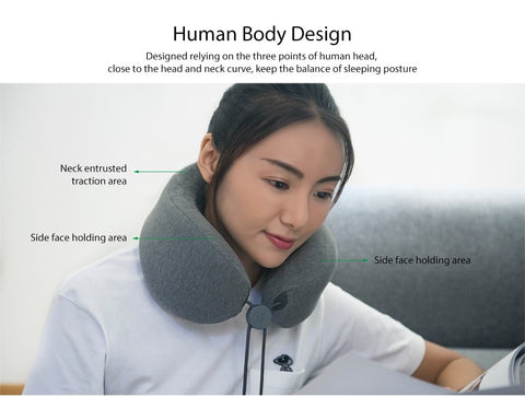 U-Shaped Neck Massage Pillow