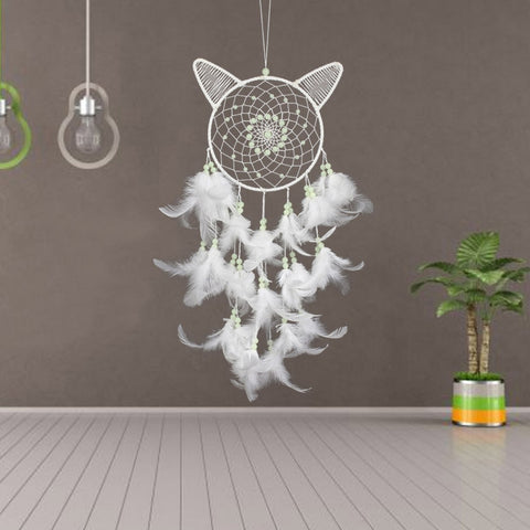 Cat Ear Glowing Dream Catcher