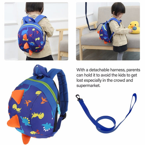 Safety Anti-Lost Dinosaur Backpack