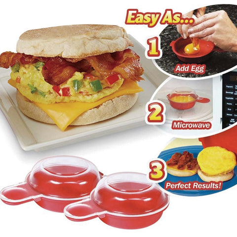 Easy Egg Sandwich (2 Pcs/Set)