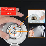 3-Stage Deluxe Shower Spa Head