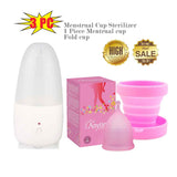 NoWorries™ Menstrual Cup & Sterilizer