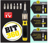 Bit 360 - 6 in 1 Pocket Precision Screwdriver