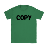 Womens T-Shirt  - Copy Paste