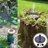 Revolutionary Solar Water Fountain
