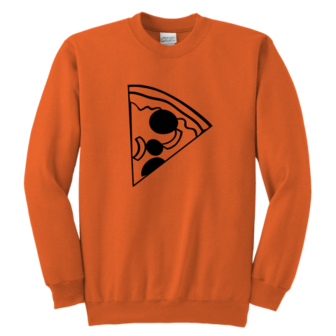 Youth Crewneck Sweatshirt  - Pizza
