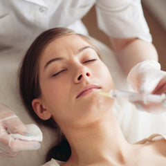 woman who undergoes needling and fillers