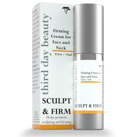 sculpt and firm cream for face and neck