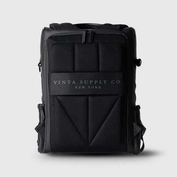 TYPE-II: Black Matte Backpack