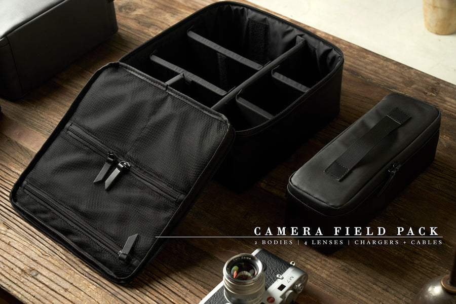 Type-II: Camera Field Pack with Carry Strap