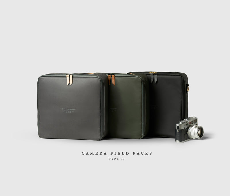 Camera Field Pack with Carry Strap
