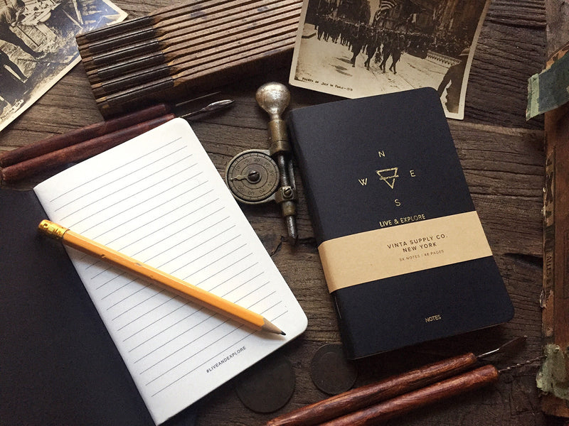 100GSM Heritage Explore Notebooks