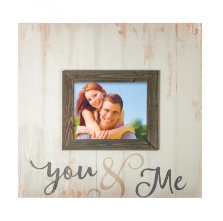 You and Me Photo Frame