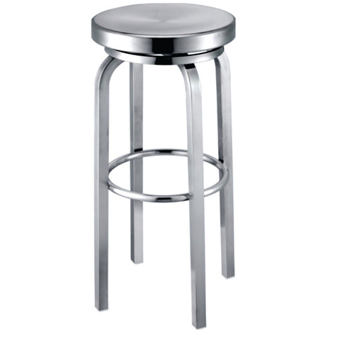 Replica Emeco Navy Round Aluminum Bar Stool