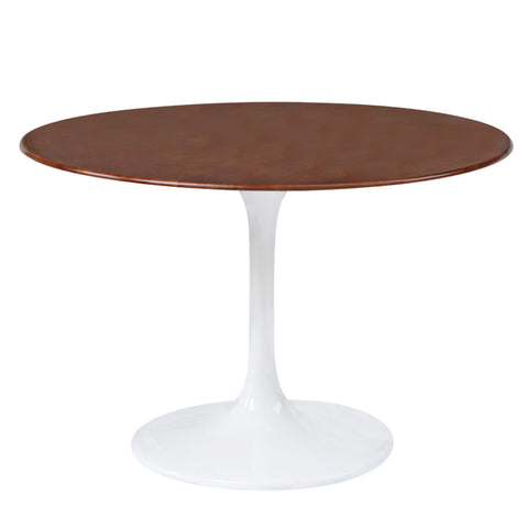 "Replica Eero Saarinen Tulip Table - Wood 30"" Top"