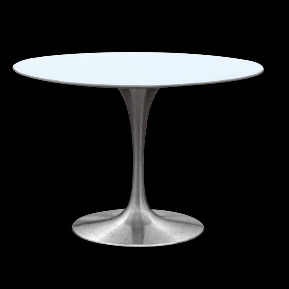 Silverado Aluminum Base Tulip Table 60 Quot Replica Designer