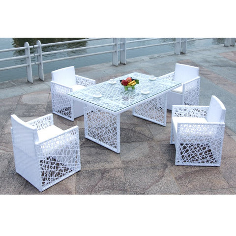 Feather Outdoor Dining Set