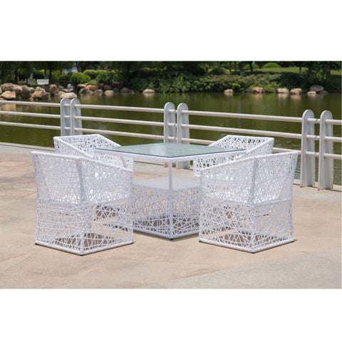Thin Outdoor Dining Set