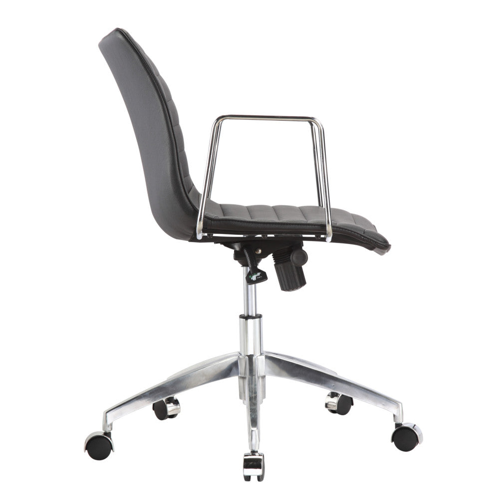 Comfy Office Chair Mid Back Designer Seating