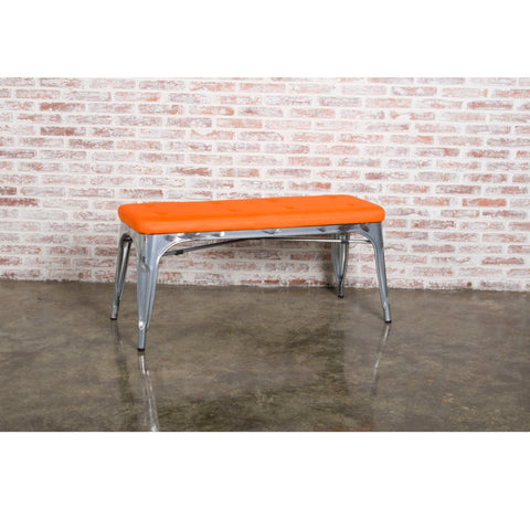 Tolix Bench Backless - 2 Seater