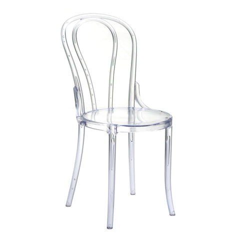 Spin Clear Chair