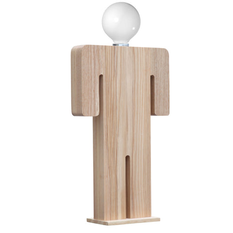 Person Table Lamp Male