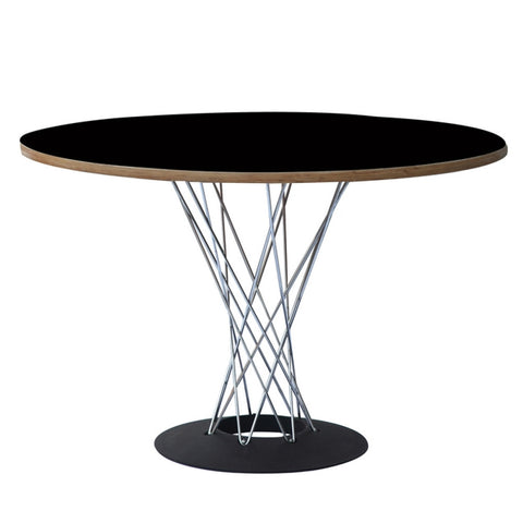 "Replica Noguchi Cyclone Dining Table 42"" - Wood"