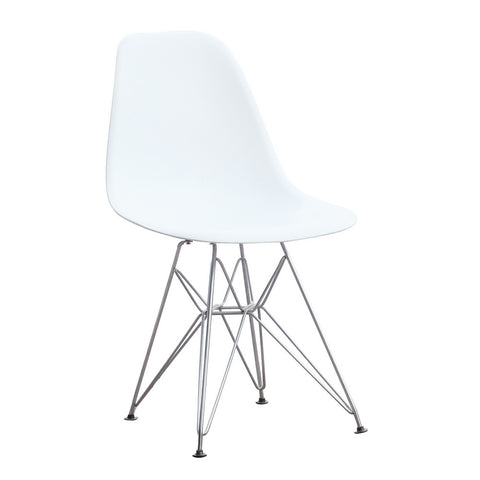 Replica Molded Plastic Chair - Eiffel Base