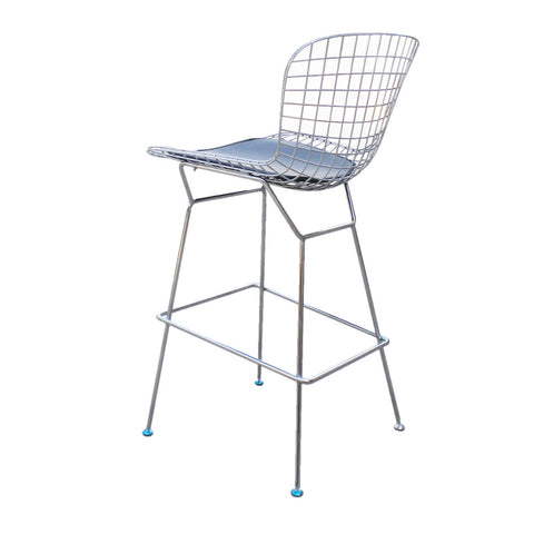 Magnificent Replica Bertoia Wire Counter Stool Designer Seating Theyellowbook Wood Chair Design Ideas Theyellowbookinfo