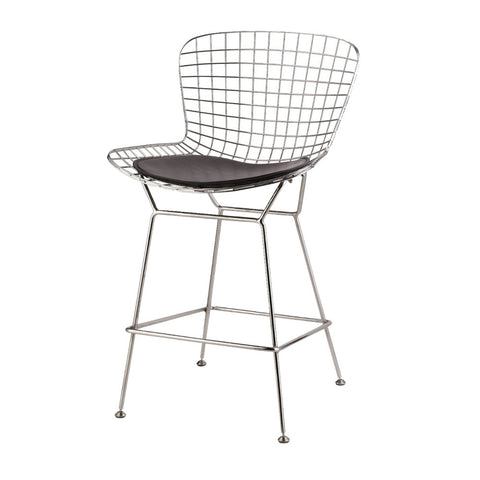 Fantastic Replica Bertoia Wire Counter Stool Designer Seating Theyellowbook Wood Chair Design Ideas Theyellowbookinfo